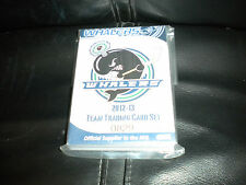 2012-2013 OHL PLYMOUTH WHALERS 32 HOCKEY CARD SET