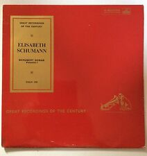 HMV COLH 130, Elisabeth Schumann - Schubert Songs - Gt Recordings of the Century
