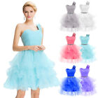 Short Prom Wedding Cocktail Party Evening Mini Gown Bridesmaid Dress STOCK 6-20