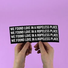 "Rihanna Sticker! ""We found love"" calvin harris, riri, beyonce, jay z, kanye west"