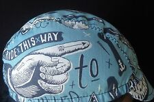 CYCLING CAP ONE SIZE RIDE THIS WAY 100% COTTON