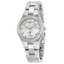 Baume and Mercier Linea Chronograph Mother of Pearl Dial Ladies Watch 10012