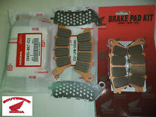 COMPLETE HONDA BRAKE PAD SETS FRONT AND REAR VTX1800C VTX1800F