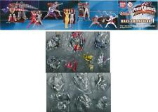 Rare SET 13 Figure POWER RANGERS DINO THUNDER Maxi PART 1 Bandai GASHAPON Sentai