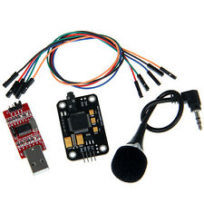 Geeetech Voice Recognition Module RS232 with microphone Jumper wires for Arduino