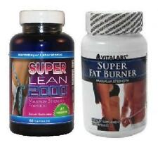 2x Super Strength Fat Burner Diet Slimming Pills Weight Loss Tablets Fat Burning