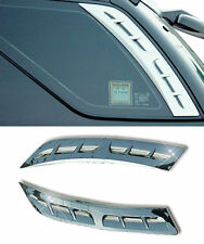 Rear Chrome C Pillar Post Quarter Glass Molding Garnish 2p For 03-09 Kia Sorento