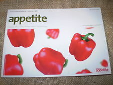 APPETITE,WHERE TO DINE ON THE ISLAND OF JERSEY,CHANNEL ISLANDS,114 PAGE BOOK.