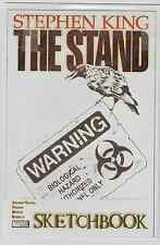 THE STAND STEPHEN KING SKETCHBOOK MARVEL NO. #1 UNREAD,Economy shipping read