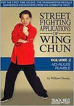 STREET FIGHTING APPLICATIONS WING CHUN 2: NO RULES - DVD - Region Free