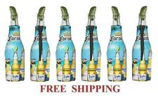 CORONA EXTRA LIGHT MACAW PARROT 6 BEER BOTTLE KOOZIE COOLIE COOLERS HUGGIE NEW