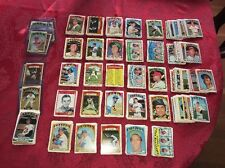 HUGE LOT OF 728 1972 TOPPS BASEBALL CARDS-Loaded w/HOF Average NM to EXMINT..