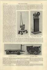 1921 C A Huntom Punching Machine British Electric Vehicles Churchtown Works Sout