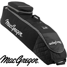 """50% OFF"" MACGREGOR VIP DELUXE WHEELED PADDED GOLF BAG FLIGHT COVER TRAVEL COVER"