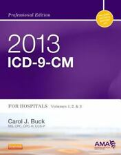 2013 ICD-9-CM for Hospitals, Volumes 1, 2 and 3 Professional Edition, 1e (AMA I