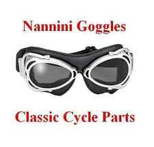Italian Motorcycle Goggles Hand Sewn for Harley Triumph BSA Norton #6100