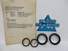 Genuine James Gaskets Front Fork Oil Seal Set Harley Davidson FX XLCH XLH1000