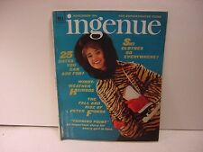 Vintage November 1964 INGENUE Magazine For Teen Girls-Faux Tiger Jacket +Skates