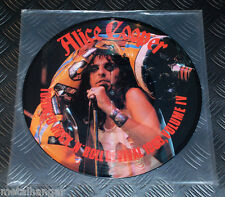 Alice Cooper 'Toronto Rock 'n Roll Revival 1969' Live LP Picture Disc Rare OOP