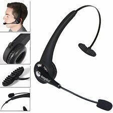 Noise Cancelling Wireless Handsfree Bluetooth Boom Mic Headset For Trucker