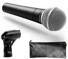 SHURE SM58 Microfono professionale dinamico astuccio e supporto inclusi