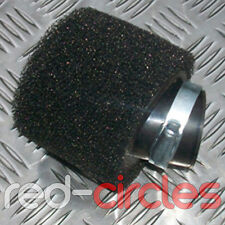 44mm - 46mm ANGLED PIT DIRT BIKE DOUBLE FOAM AIR FILTER 50cc - 160cc PITBIKE