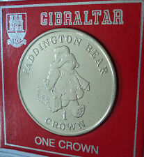 1998 Gibraltar A Bear Called Paddington 40th Anniversary Crown Coin BU Gift Set