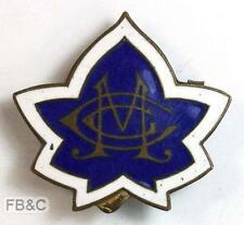 Vintage Methodist Girls Club Enamel Badge