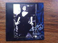 Cyndi Lauper Memphis Blues cd comes with signed cd booklet autographed
