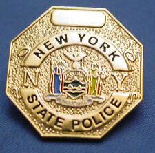 NYSP  NEW YORK STATE POLICE  LAPEL PIN  PBA FOP