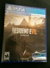 NEW! RESIDENT EVIL 7 BIOHAZARD (Sony PlayStation 4 PS4 2017 Disc) Factory Sealed