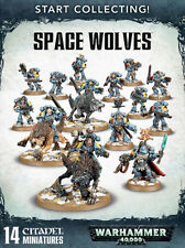Warhammer 40k   Space Wolves Start Collecting! Space Wolves (14 Models)   NIB