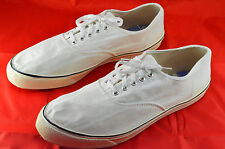 Vintage Converse Deck Shoes Size 12 Pre Owned Comfort Arch White Canvas Sneakers