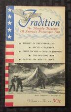 1959 TRADITION Monthly Magazine of America's Picturesque Past v.2 #1 FN+