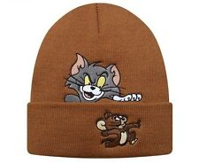 Supreme TOM E JERRY Beanie-Marrone FW16 CAP HAT
