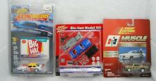 Johnny Lightning Set of 3 Muscle Hurst Hemi, Racingdreams Big Mac & Shelby Kit