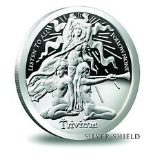 2016 Silver Shield Trivium Girls 1 oz .999 Silver Proof-Like Round Pre-Sale Coin
