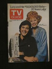 TV Guide Magazine March 31, 1973  Lucille Ball & Desi Arnaz IV
