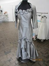 Obsessions Couture 957 mother of the bride / groom - size 14 - silver (mom-3)