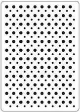 Crafts Too A6 Embossing Folder SPOTS CTFD3020