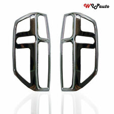 FOR NISSAN FRONTIER NAVARA D40 05-09 PATHFINDER CHROME REAR TAIL LIGHT COVER