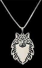Norweigan Forest Cat Pendant Necklace -  Fashion Jewellery - Silver Plated