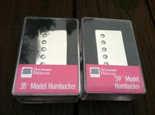 Seymour Duncan SH-4 JB Bridge & SH-1 59 Neck NICKEL Humbucker Pickup Set - NEW