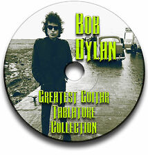 BOB DYLAN FOLK ROCK GUITAR TABS TABLATURE SONG BOOK SOFTWARE CD