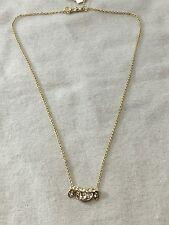 NEW Alexis Bittar Havisham Jagged Marquis Gold Cluster Pendant Necklace $105