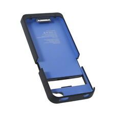 Blue 1900mAh External Backup Battery Charger Case For iPhone 4 4S DG