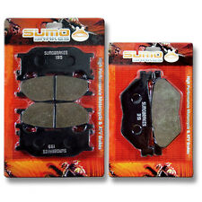 Yamaha F+R Brake Pads XVS 1300 V Star (2007-2014) DeLuxe Tourer Midnight (07-15)