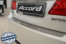 HONDA ACCORD IX 2013- SD Rear Bumper Protector Stainless Steel Scuff Sill Plate