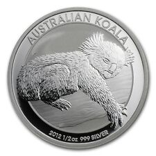 2012 1/2 oz silver Koala, perth mint
