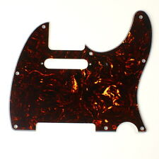 Custom Guitar Pickguard for Tele Standard ,4ply Brown Tortoise